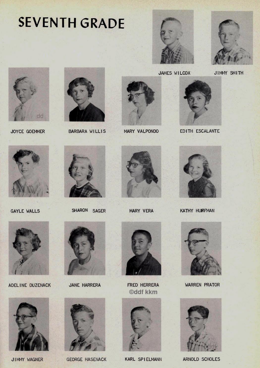 1960 LaVeta Yearbook